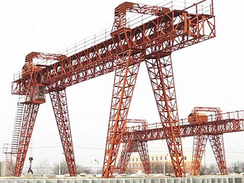 truss double girder gantry crane