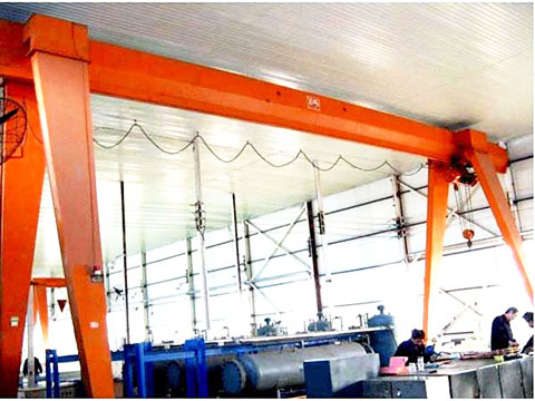 10 ton gantry crane with elegant appearance for sale