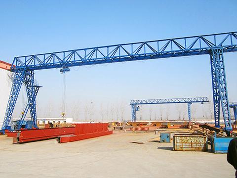 10 ton truss gantry crane of Weihua sales