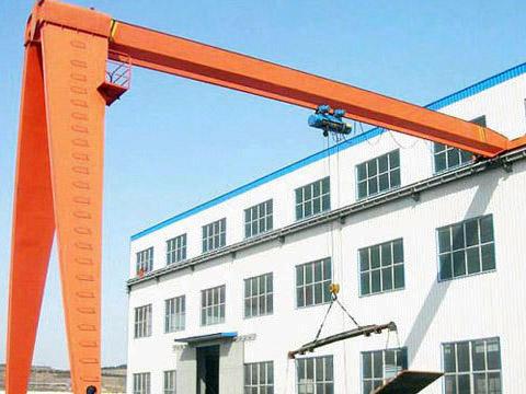 single beam 10 ton semi gantry crane for sale