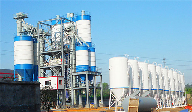 Dry Mortar Production Line in China