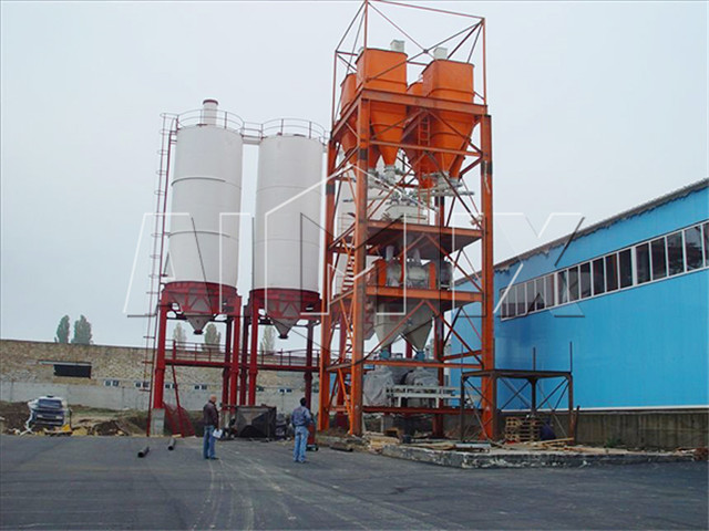 High quality full automatic dry mortar production line for sale