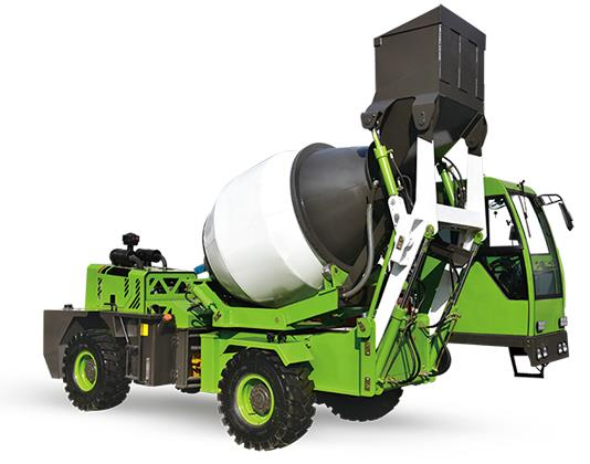 An Overview Of The Working Process Of Self-Loading Concrete Mixers