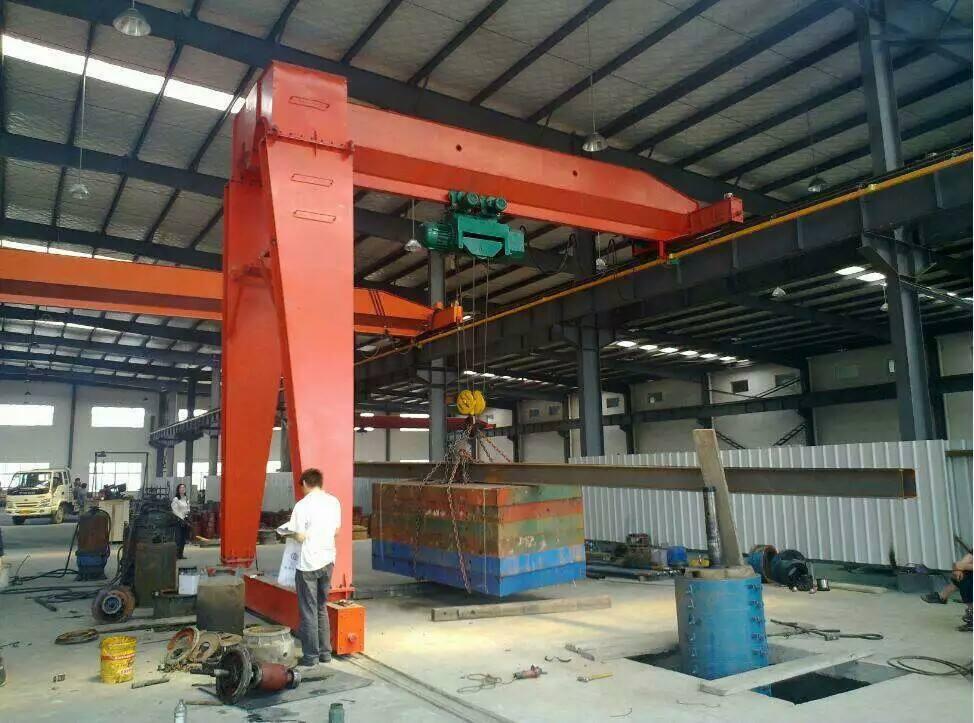 single gieder semi gantry crane