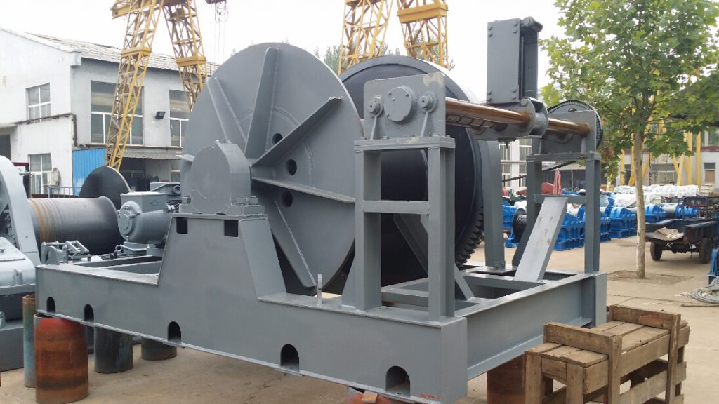 Eletric Winch With A Large Capacity