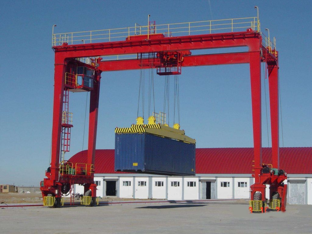 Container Rubber Tyred Gantry Crane