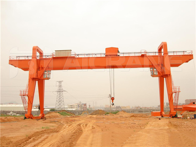 Order of double girder gantry crane 30 t
