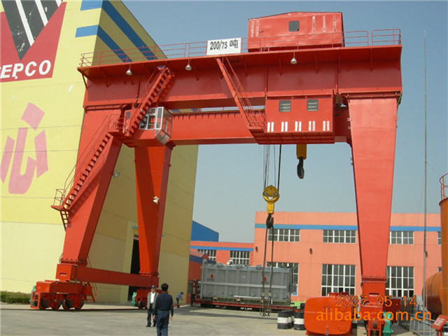 Buy two-shaft gantry crane 30 tons