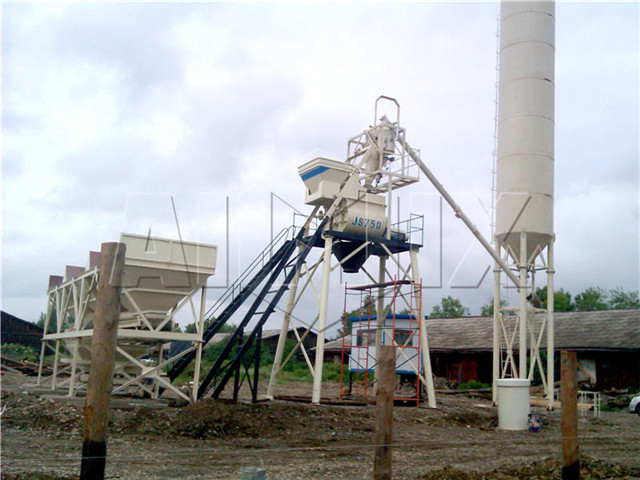 Small Concrete Mixing Plant buy