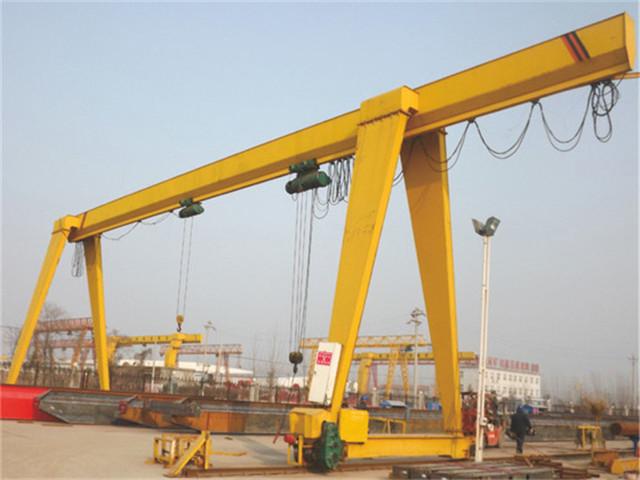 Technical characteristics of single-beam gantry cranes
